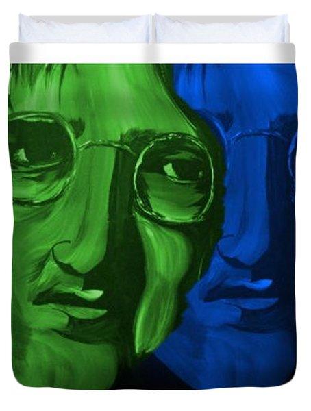 Lennon Duvet Cover by Mark Moore
