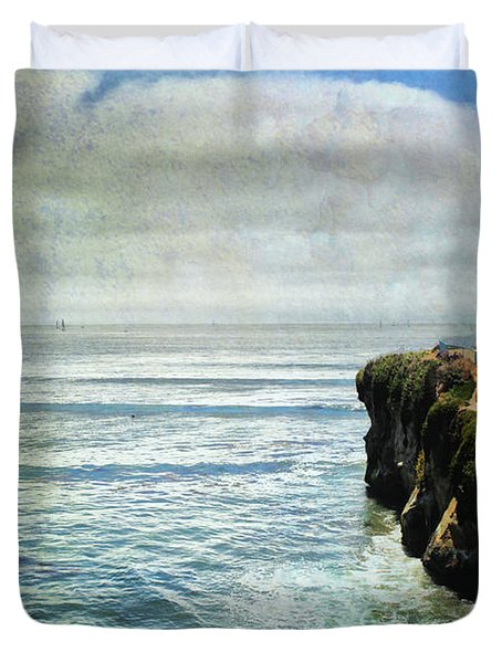 Life Is Bigger Duvet Cover by Laurie Search