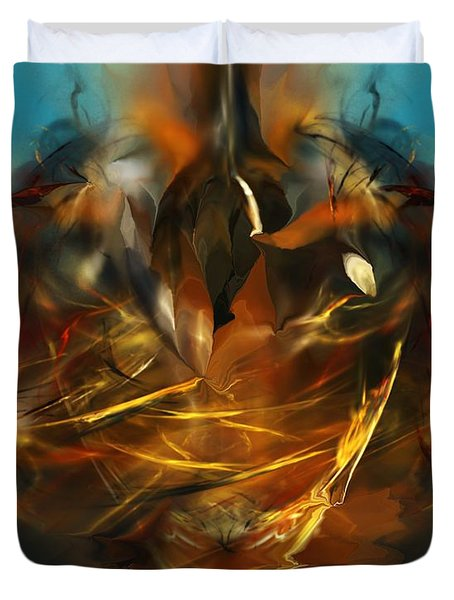 Lift Off Duvet Cover by David Lane