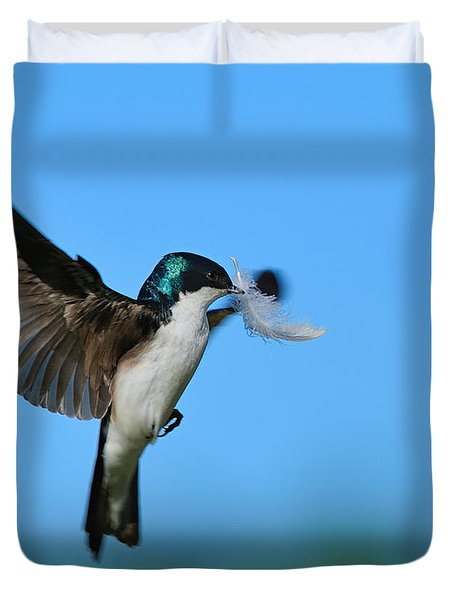 Light As A Feather Duvet Cover by Tony Beck