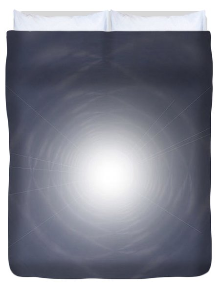 Light At The End Of The Tunnel Duvet Cover by Thomas  MacPherson Jr