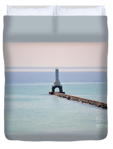 Light House Duvet Cover by Dyana Rzentkowski