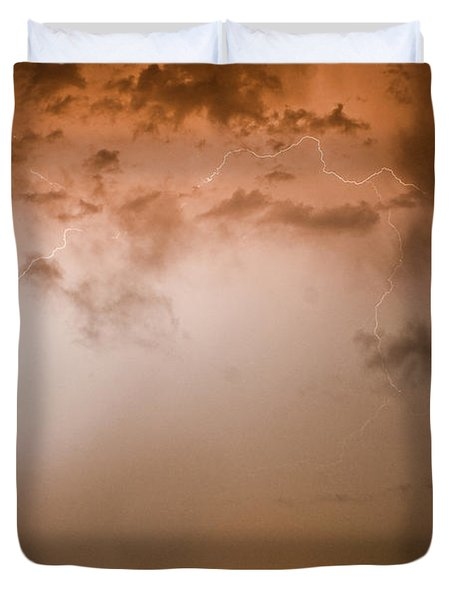 Lightning Dome Duvet Cover by James BO  Insogna