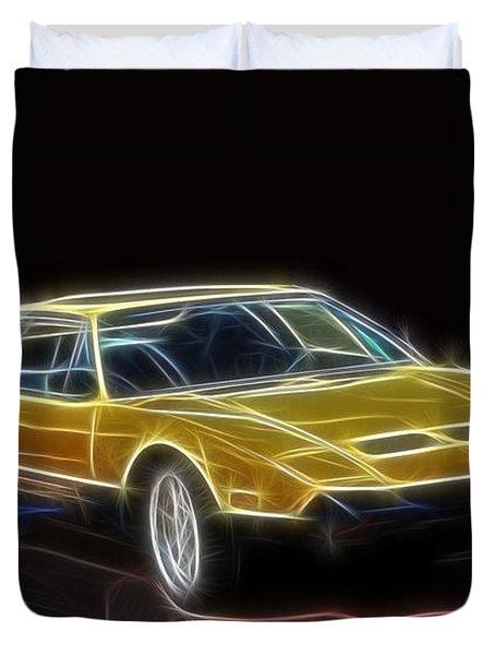 Lightning Fast Duvet Cover by Barry Jones