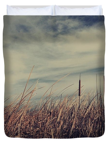 Like The Way You Used To Run Your Fingers Through My Hair Duvet Cover by Laurie Search