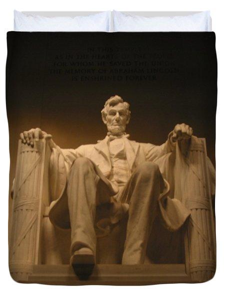 Lincoln Memorial Duvet Cover by Brian McDunn