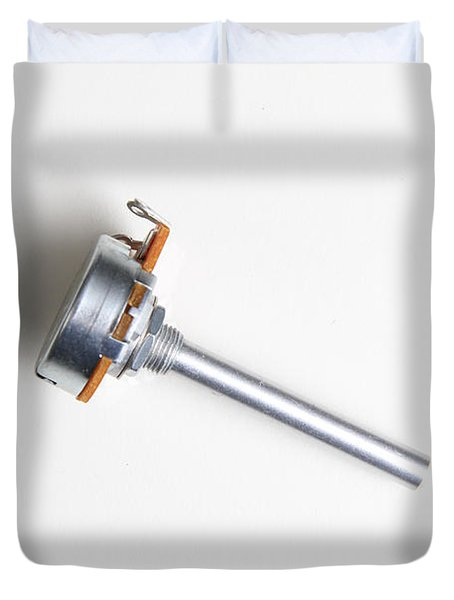Linear-taper Potentiometer Duvet Cover by Photo Researchers, Inc.