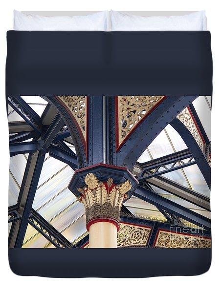 Liverpool Street Skylight Duvet Cover by Ann Horn