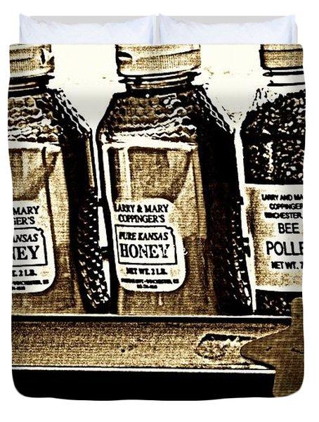 Local Honey Duvet Cover by Chris Berry