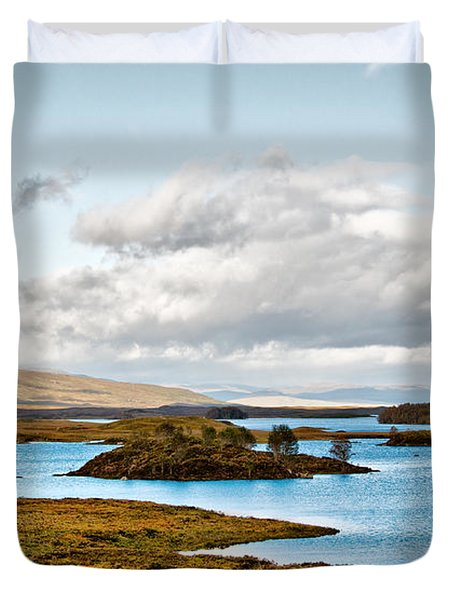 Loch Ba View Duvet Cover by Chris Thaxter