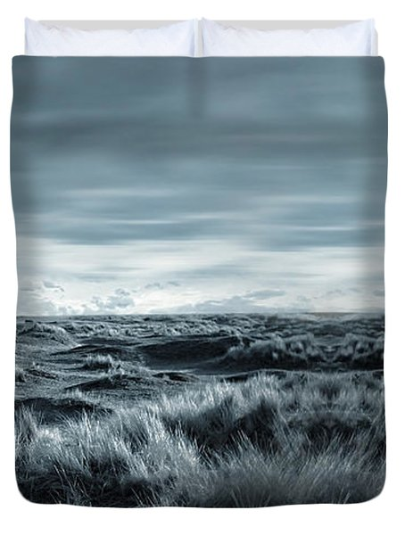 Lone Duvet Cover by Lourry Legarde