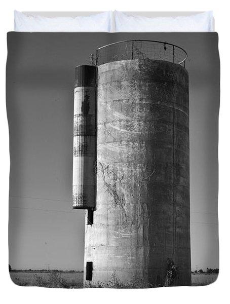 Lonely Silo 6 Duvet Cover by Douglas Barnett