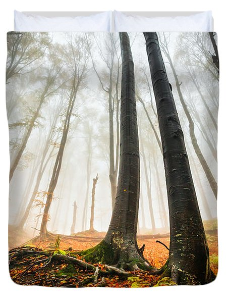 Lords Of The Forest Duvet Cover by Evgeni Dinev