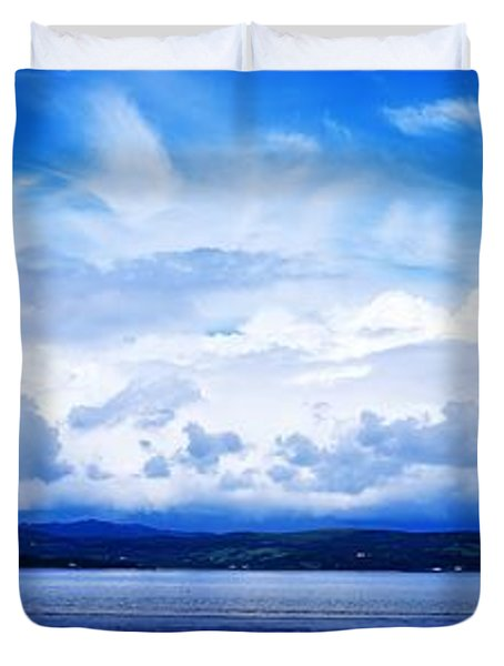 Lough Swilly, County Donegal, Ireland Duvet Cover by The Irish Image Collection