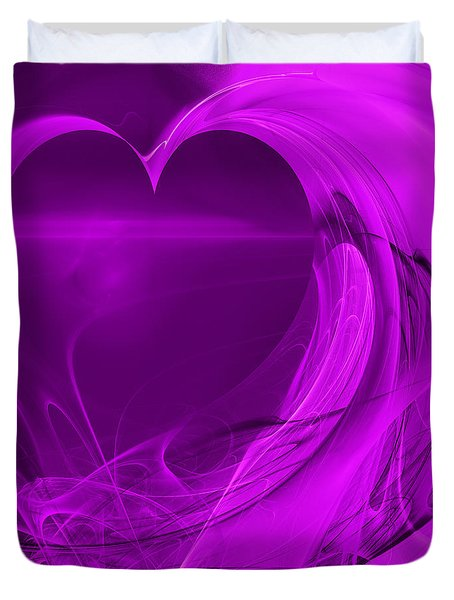 Love . Square . A120423.279 Duvet Cover by Wingsdomain Art and Photography