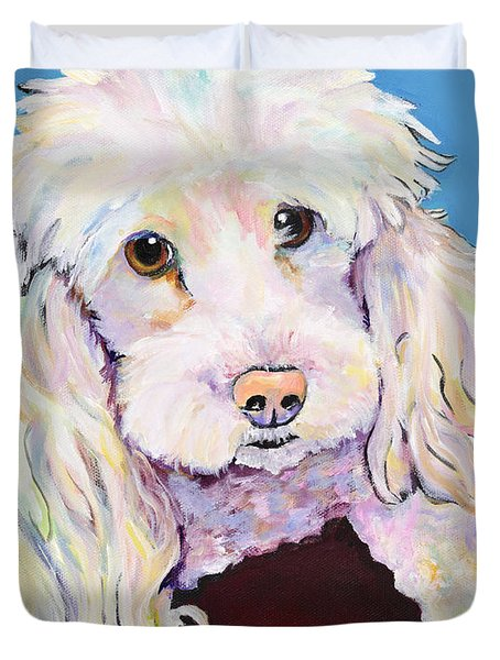 Lucy Duvet Cover by Pat Saunders-White
