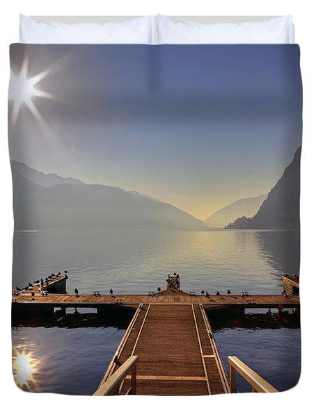Lugano Duvet Cover by Joana Kruse