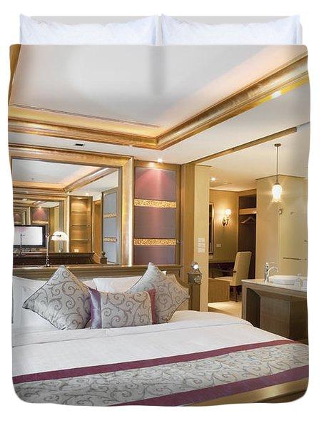 Luxury Bedroom Duvet Cover by Setsiri Silapasuwanchai