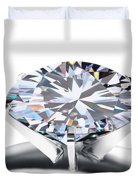 Luxury Wedding Ring  Duvet Cover by Setsiri Silapasuwanchai