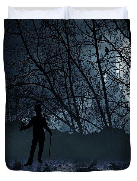Macabre Duvet Cover by Lourry Legarde