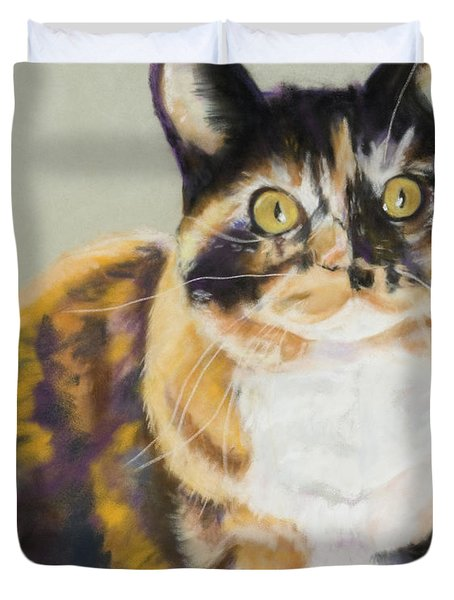 Maggie Mae Duvet Cover by Pat Saunders-White
