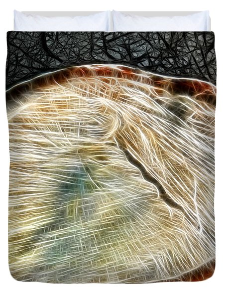 Magical Tree Stump Duvet Cover by Mariola Bitner