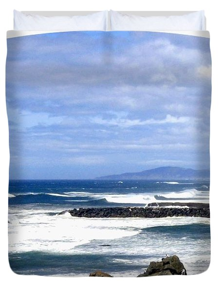 Magnificent Sea Duvet Cover by Will Borden