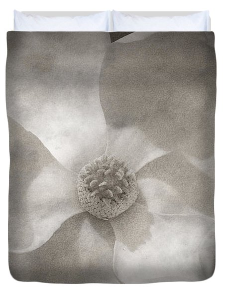 Magnolia 3 Duvet Cover by Rich Franco