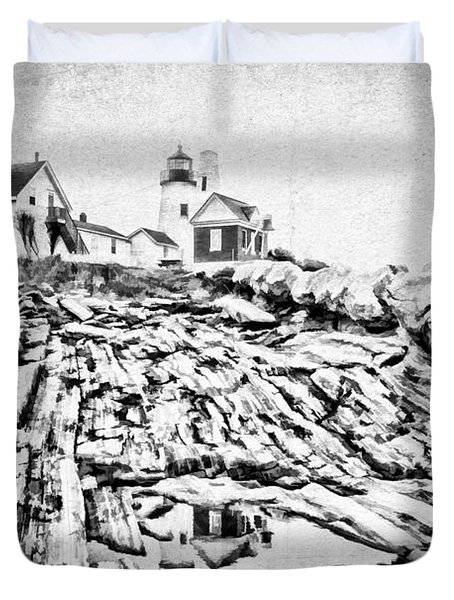 Maine Duvet Cover by Darren Fisher