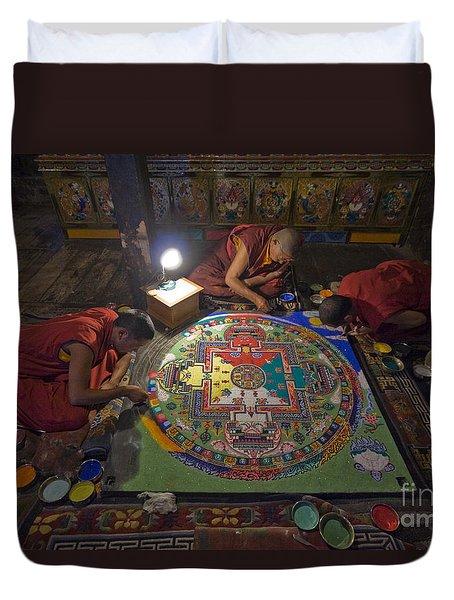 Making Of Mandala Duvet Cover by Hitendra SINKAR