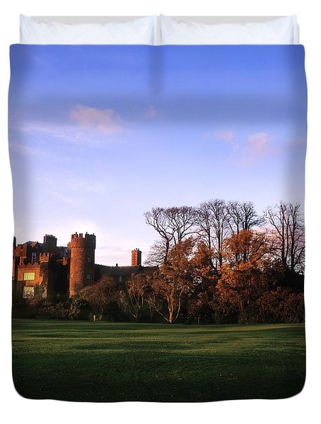 Malahide Castle, Co Fingal, Ireland Duvet Cover by The Irish Image Collection