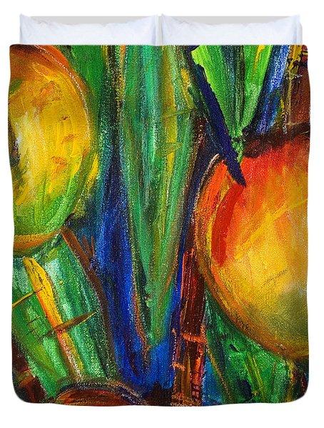 Mango Tree Duvet Cover by Julie Kerns Schaper - Printscapes