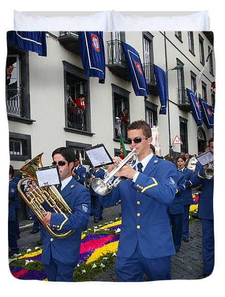 Marching Band Duvet Cover by Gaspar Avila