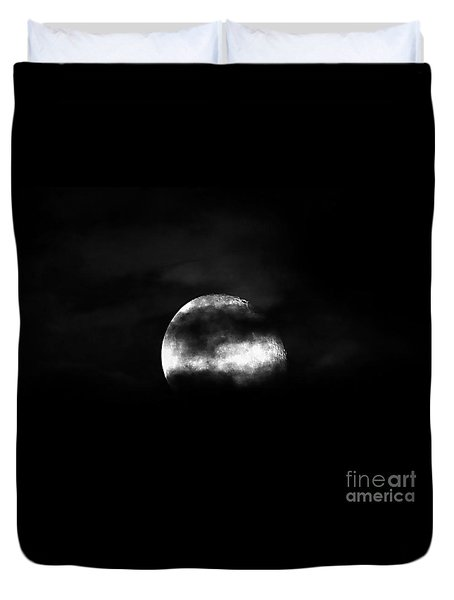 Masked Moon Duvet Cover by Al Powell Photography USA