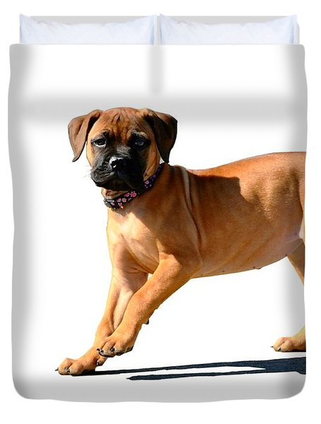 Me And My Shadow 3 Duvet Cover by Dale   Ford