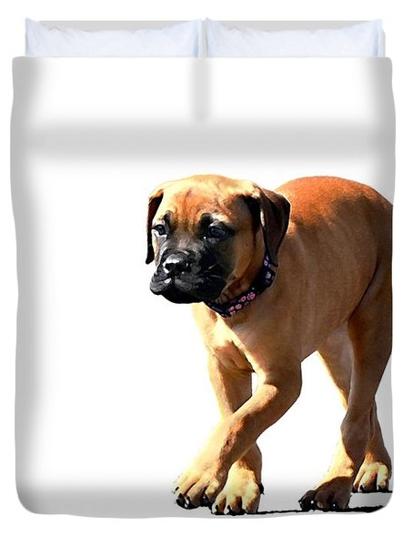 Me And My Shadow 5 Duvet Cover by Dale   Ford