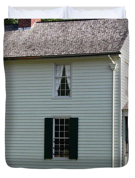 Meeks Store Appomattox Court House Virginia Duvet Cover by Teresa Mucha