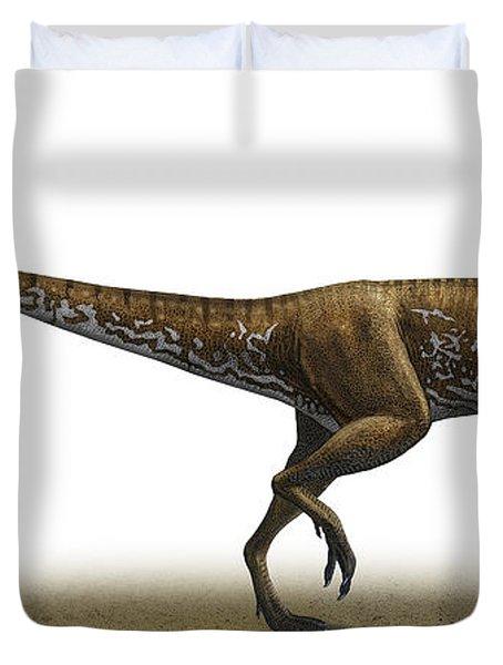 Megapnosaurus Kayentakatae Duvet Cover by Sergey Krasovskiy