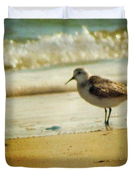 Memories Of Summer Duvet Cover by Amy Tyler