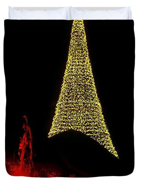Merry Christmas ... Duvet Cover by Juergen Weiss