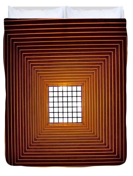 Mesmerizing Light Duvet Cover by Roger Green