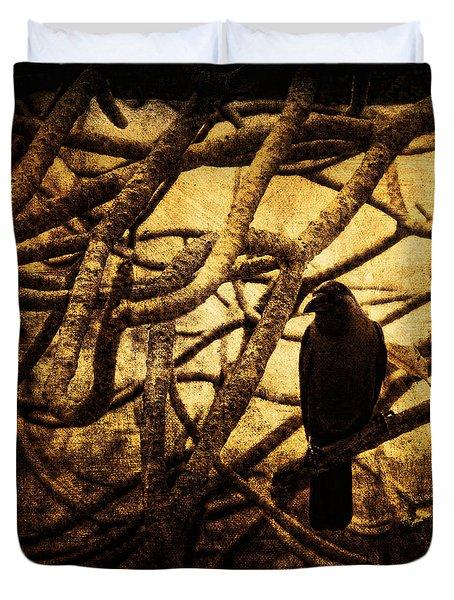 Messenger Duvet Cover by Andrew Paranavitana