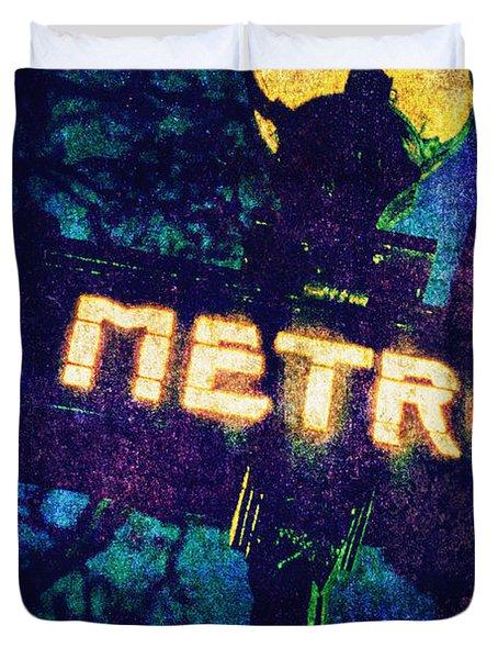 Metro Duvet Cover by Skip Nall