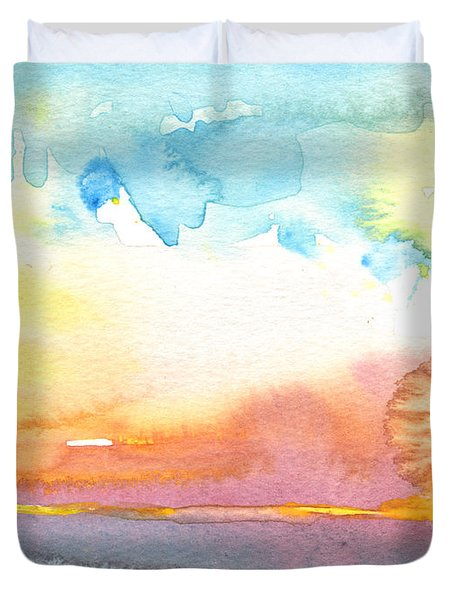 Midday 26 Duvet Cover by Miki De Goodaboom