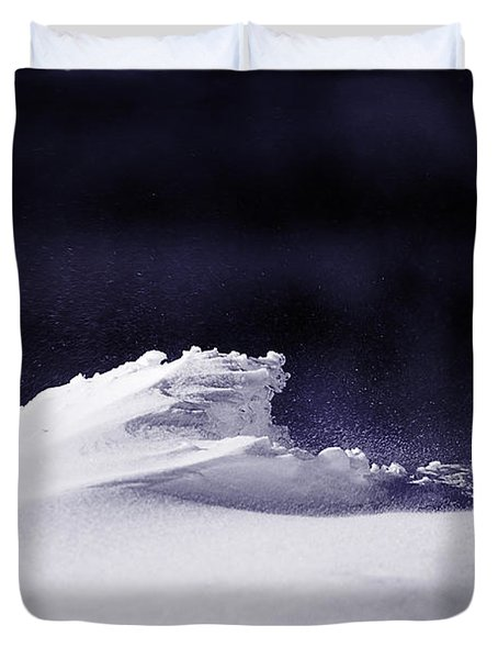 Midnight In January Duvet Cover by Susan Capuano