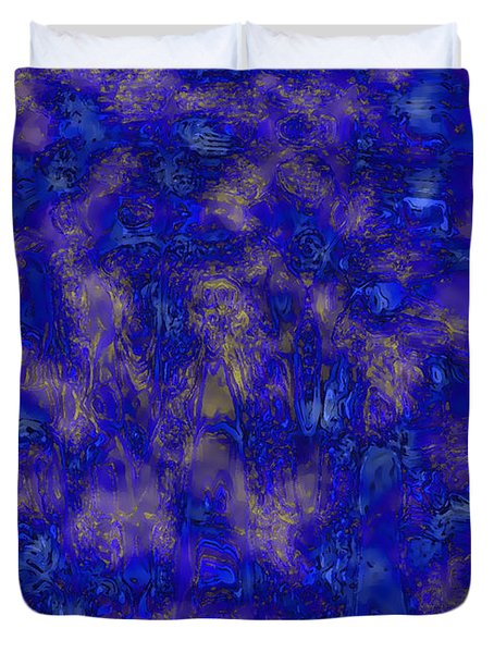 Midnight Magic Duvet Cover by Carol Groenen