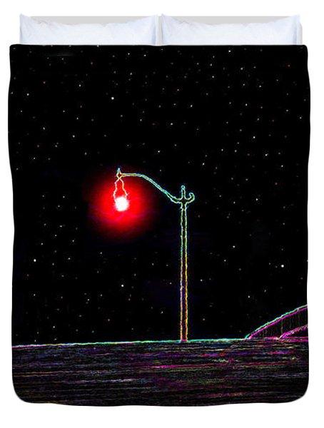 Midnight Run Duvet Cover by David Lee Thompson