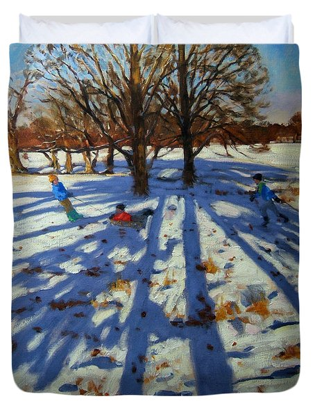 Midwinter Duvet Cover by Andrew Macara