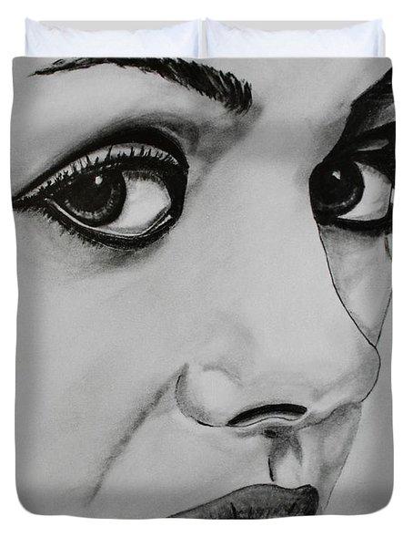 Mila Duvet Cover by Michael Cross