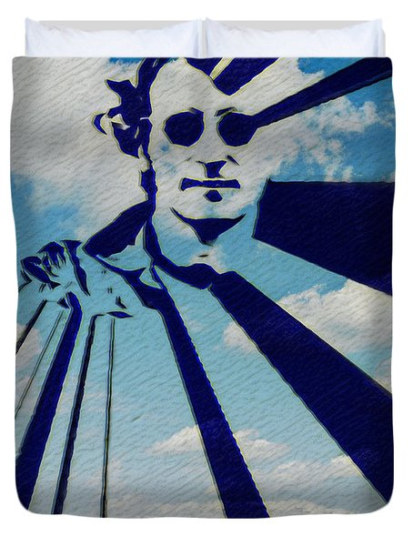 Mind Games Duvet Cover by Bill Cannon